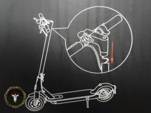 Xiaomi E-Scooter 1S: Schritt 2