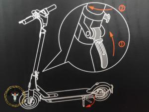 Xiaomi E-Scooter 1S: Schritt 4